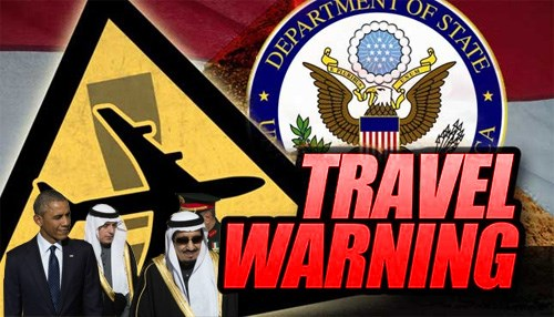 Saudi Arabia Travel Warning