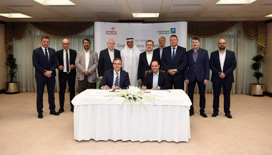 Saudi Aramco Enters Baltic Market with Key Crude Oil Supply Contract to PKN Orlen