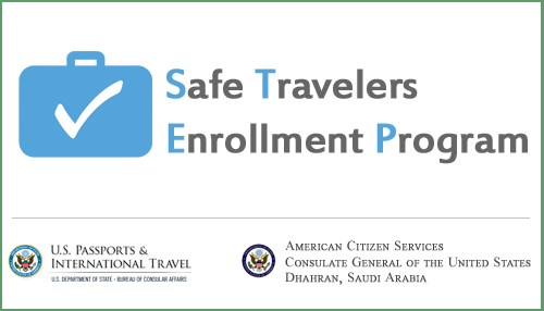 Safe Travelers Enrollment Program (STEP)