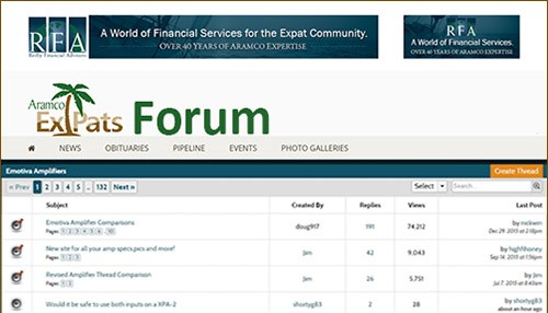 New Forum on the Way