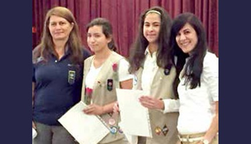Dhahran Girl Scouts earn Silver Awards