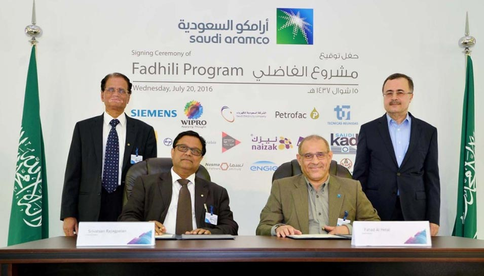 Ceo Leads Signing Ceremony Of Mega Gas Project At Fadhili