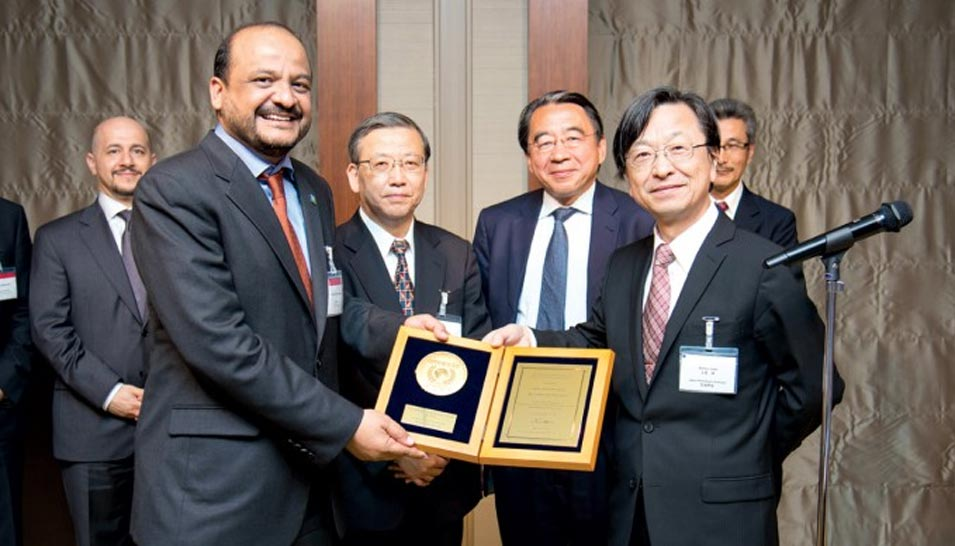 Saudi Aramco's CAN-15 Wins Prestigious Japan Petroleum Institute Award