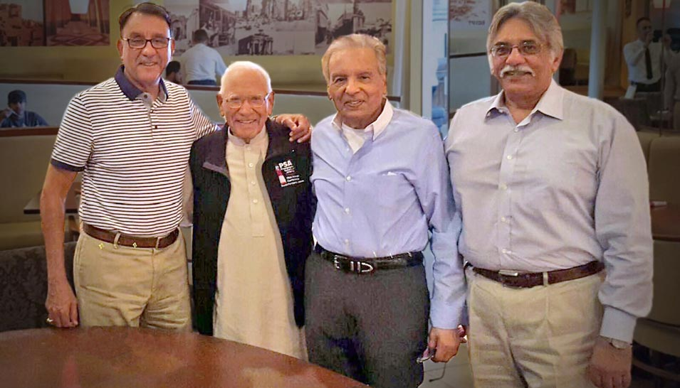 Shaikh Amin Meets His Childhood Friend After 40 Years