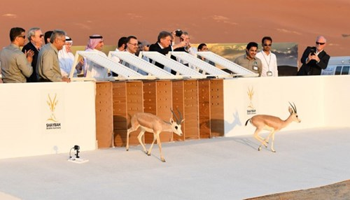 Shaybah Wildlife Sanctuary Inaugurated