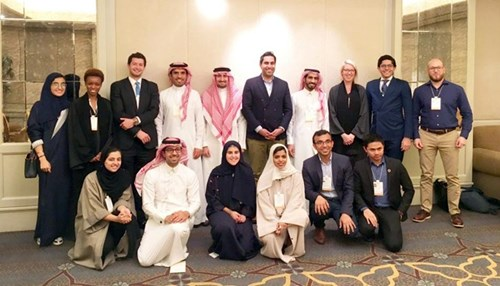 Young Leaders Represent Company at MiSK Forum