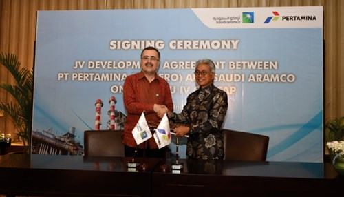 Saudi Aramco & Pertamina Sign JV Devt Agreement