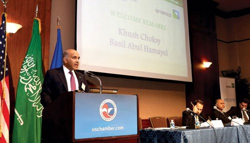 U.S‭. ‬Chamber of Commerce Hosts Aramco Business Forum