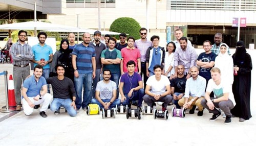 Saudi Aramco Team Shares Robotics Knowledge