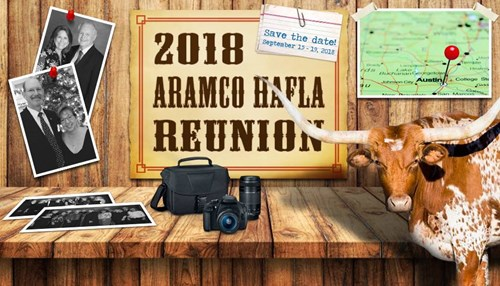 Save the Date for the 2018 Aramco Hafla Reunion