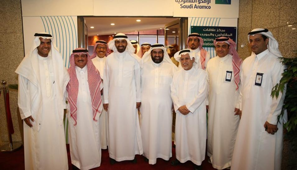 Saudi Aramco Launches Center for Contractors and Suppliers Relations in Riyadh Chamber
