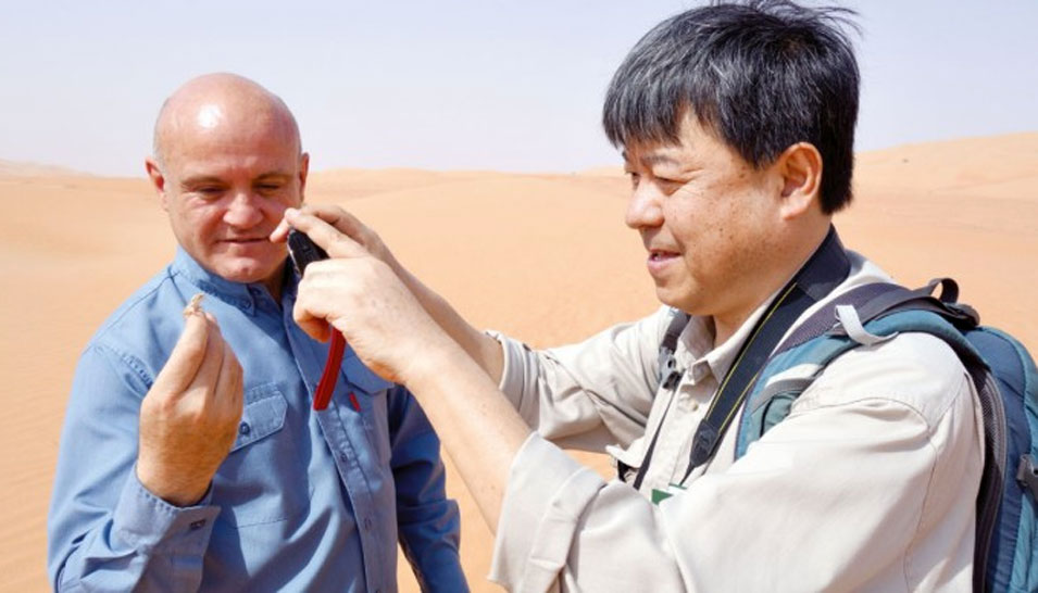 Japanese Dryland Researchers Visit Saudi Aramco