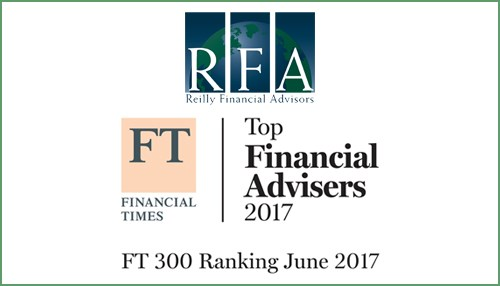 Reilly Financial Advisors Announced in Financial Times Top 300
