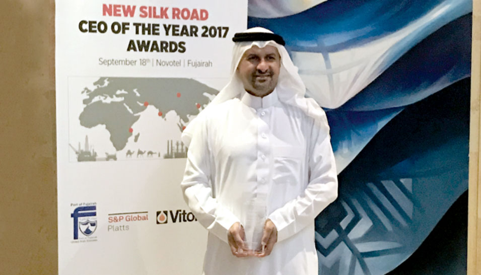 Aramco Trading Company Recognized for Helping Pave the New Silk Road