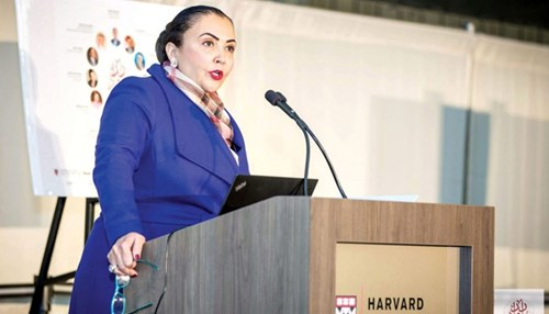 Chief Engineer Delivers Keynote at Harvard Business School's Arab Conference