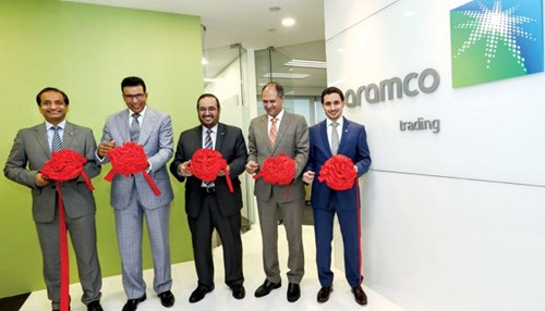 Aramco Trading Inaugurates First International Office in Singapore