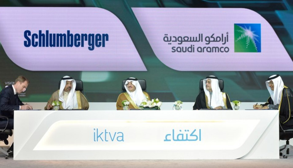 Saudi Aramco Awards Schlumberger Contracts for Drilling Rigs and Services for Oil and Gas Wells