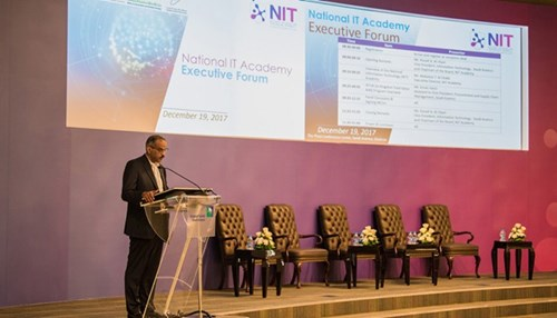 Saudi Aramco Hosts the National IT Academy Forum and Signs MOUs
