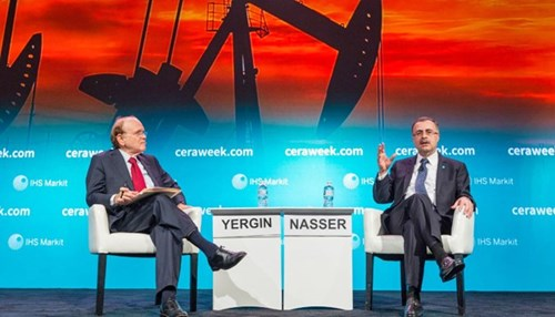 Saudi Aramco CEO Nasser Addresses the Future of Oil at Annual CeraWeek Conference in Houston