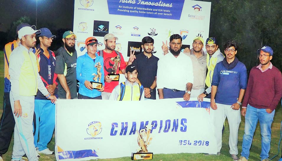 Tape Ball Cricket Tournament by Being Student 2018