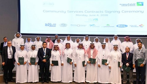 Saudi Aramco Signs 16 Contracts to Operate and Maintain Its Community Over the Next 10 Years