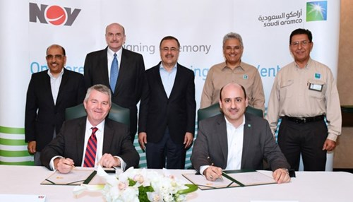 Saudi Aramco and NOV Sign Joint Venture Agreement