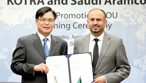 Saudi Aramco, KOTRA Sign MoU to Strengthen Collaboration