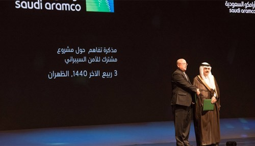 Saudi Aramco and Raytheon Sign MOU to Establish JV in Cybersecurity