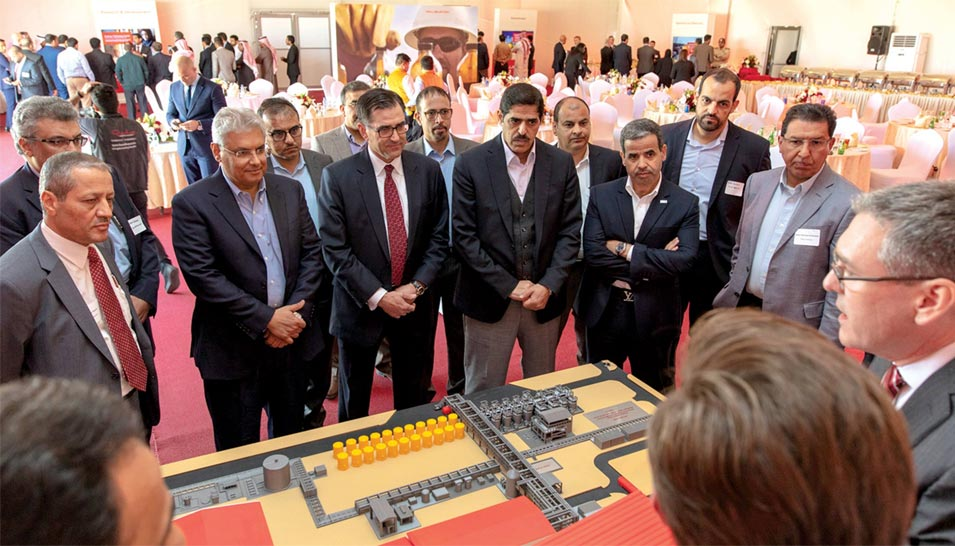 First Specialty Oil Field Chemicals Manufacturing Reaction Plant in Saudi Arabia