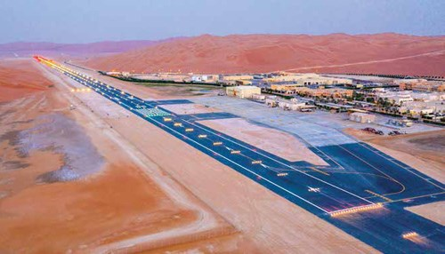 Shaybah Airstrip a Logistical Achievement