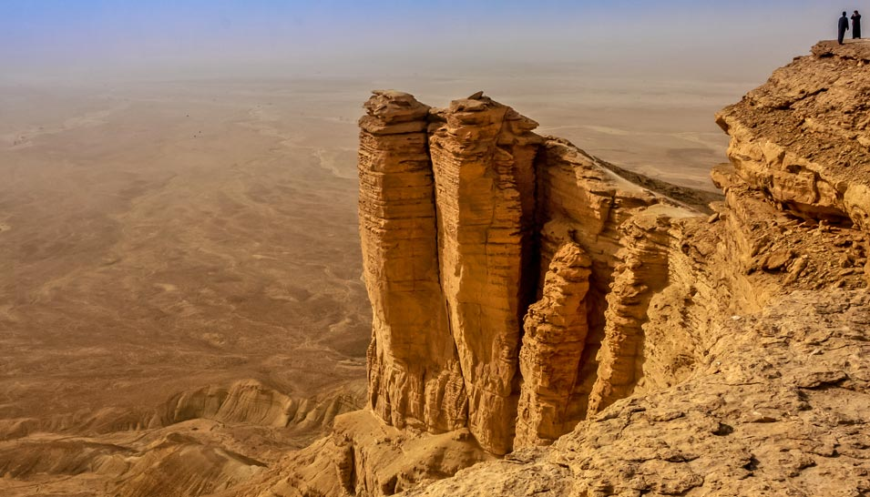 The Seven Natural Wonders of Arabia, Part III: The Edge of the World