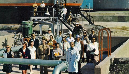 Recognize Anyone from this 1973 Aramco Magazine Cover Photo?
