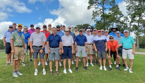 Aramco Retiree Golf Group Teed It Up At The Woodlands