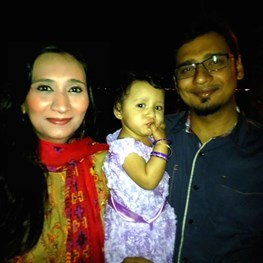 Baby Umaima Shahzad - First Happy Birthday