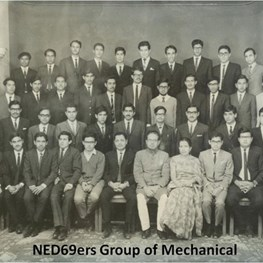 NED69ers Reunion in Karachi-February 20, 2015
