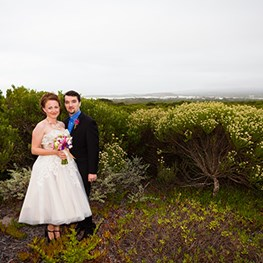 Amanda Wixted Weds Timothy Fitz in South Africa
