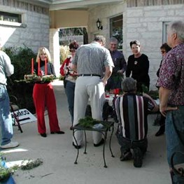2005 Central Texas Aramco Holiday Party Preparation