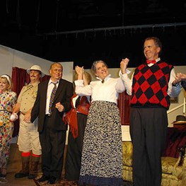 Saudi Aramco Annuitants Perform in Arsenic and Old Lace