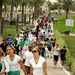Dhahran Middle School Walkathon