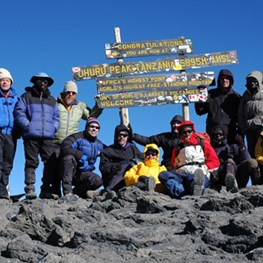 Aramcons Summit Mt. Kilimanjaro