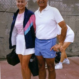 Good-Bye Tennis Social for Fred and Sally Aslan