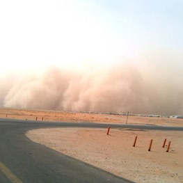 Sand Storms in Saudi Arabia