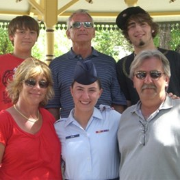 Cortney Keck's Air Force Graduation
