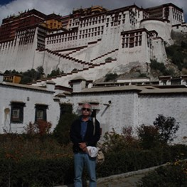 Lou Spencer in Tibet
