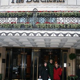 The Stevens London Tea at the Dorchester