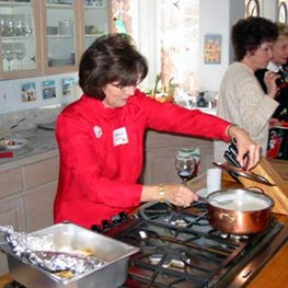 10th  Annual Luncheon Hosted by Roger and Marsha Lindeken - 2003