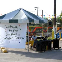 Pee Wee Baseball Winter Carnival