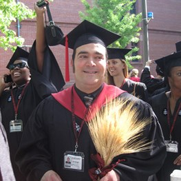 Marlon Robert Leon Banta Receives Masters Degree with High Honors from Harvard