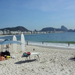 Tim Barger Visits Copacabana
